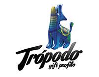Trópodo - Logotipo y personaje de marca