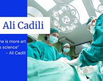 How Ali Cadili become one of the trustful doctors?