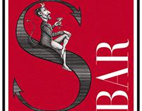 S Bar Logo Mark Illustrated by Steven Noble
