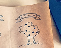 Choc Chip Cookie character for Alphabet Cafe