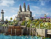 Medieval Fantasy Environment
