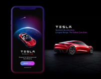 Tesla Roadster Walkthrough | UI/UX