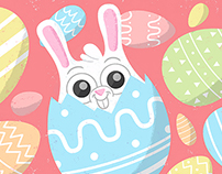 Easter Chick and Rabbit