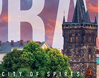 Prague (Poster, banner, postcard)