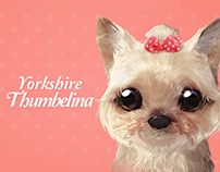 Yorkshire Thumbelina Theme
