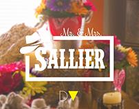 Mr. & Mrs. Sallier: Wedding Photography