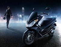 Honda Bike:Shooting&Postproduction