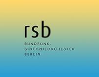 Rundfunk-Sinfonieorchester Berlin - Rebranding