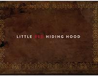Character Design| Little Red Hiding hood
