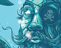 Adobe Masterclass Pirate Illustration Demo