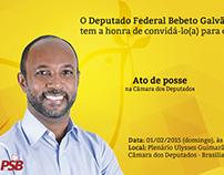 Criação de Banner Digital - Dep. Bebeto Galvão