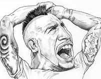 Caricatura Arturo Vidal