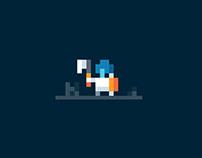 Pixel Art 2D Game Design Character