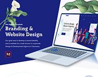 Devdesign Agency UI Template Free Download