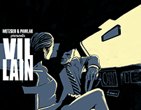 VILLAIN #1 cover for Noir Edition