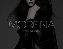MORENA - FREE FASHION INSPIRED DISPLAY TYPEFACE