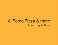 Al Forno Branding - Pizza & More