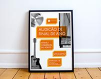 Audição de Final de Ano · Poster