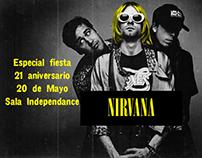 Nirvana flyer