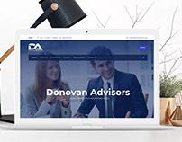 Web Site- Donovan Adisors
