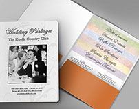 Knolls Wedding Package Folder