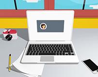 myKredit Dashboard Animation