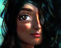 Claudia's eye