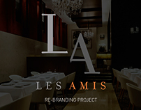 Les Amis Re-Branding Project