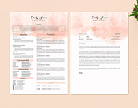 Resume Cv & CoverLetter Template