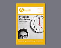 Projeto gráfico | Revista V+saúde