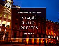 Casamento Estação Júlio Prestes