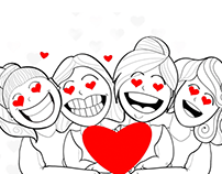 The Four Fat Ladies | Happy Valentine Animation