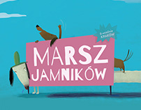 Projects of posters for Radio Kraków