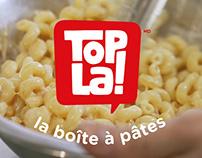 Publicités pour TOPLA!