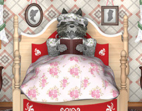 3D 'Grandma's House' from Little Red Riding Hood