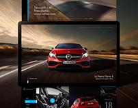 Mercedes-Benz A-Class   Web & UI/UX Design