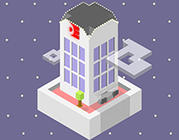 Dominion Enterprises Building Isometric