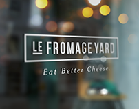 Le Fromage Yard Visual Identity