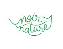 Wine label - Noir Nature - Alsace