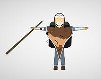 Kiros (3D character)