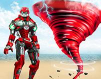 Robot Tornado Battle
