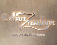 Ana Zambon | Logo