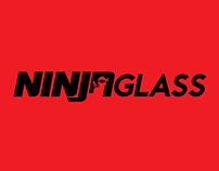 Ninja Glass Screen Protectors Logo - Concept Work