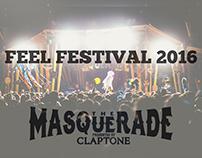 Feel Festival 2016 ≠ Claptone