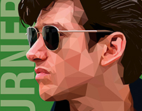 ALEX TURNER - LOW POLY ART
