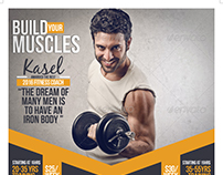 Gym / Fitness Flyer Template - Download