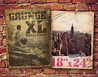 Grunge Poster Maker XL