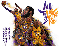 all-star LAKERS