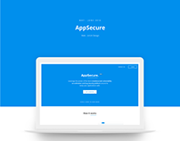AppSecure India | Website UI/UX Design