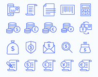 Banking & Finance Icon Set
